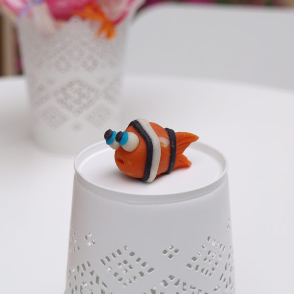 Рибка червона
